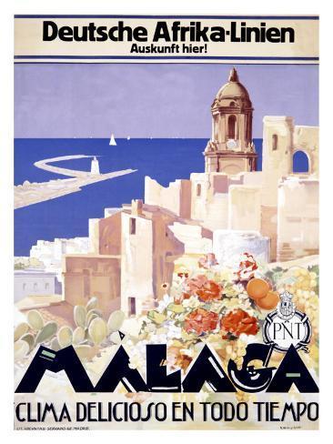 Malaga Giclee Print
