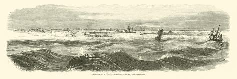 Landing of Banks's Expedition on Brazos Santiago, November 1863 Giclee Print