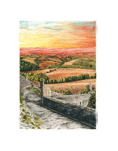 Landscape no. 1 Art Print