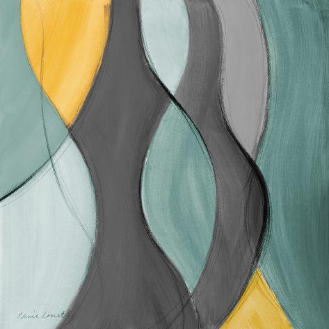 Coalescence in Gray II Premium-giclée-vedos