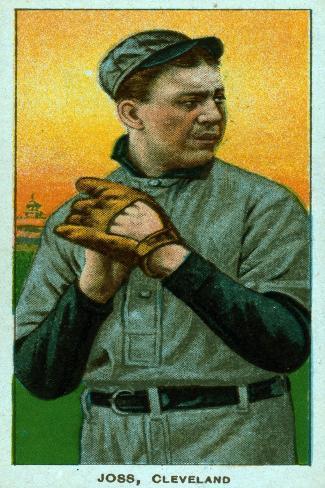 Cleveland, OH, Cleveland Naps, Addie Joss, Baseball Card Art Print
