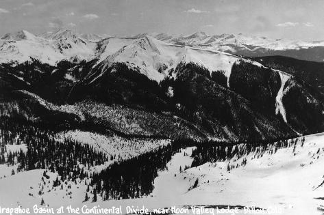 Dillon, Colorado - Arapahoe Basin at Continental Divide Art Print