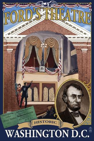 Ford's Theatre - Washington, DC Stampa artistica