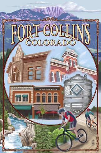 Fort Collins, Colorado Scenes Art Print
