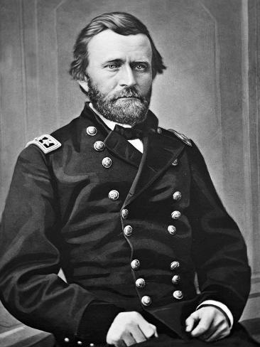 General U.S. Grant Portrait, Civil War Stampa artistica