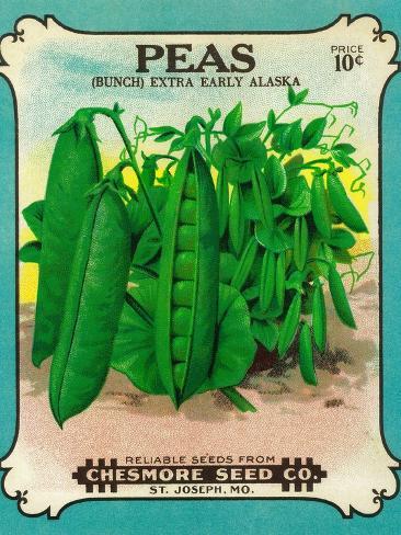 Peas Seed Packet Taidevedos