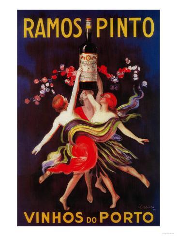 Ramos Pinto Vintage Poster - Europe Art Print