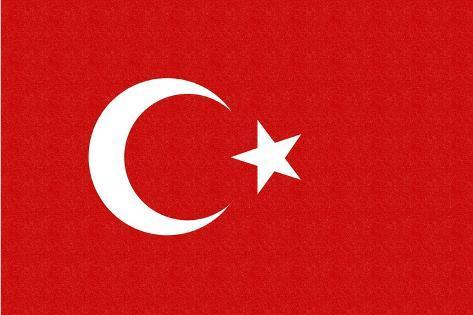 Turkey Country Flag - ...