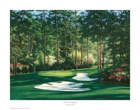 The 10th At Augusta Art Print