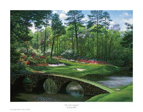 The 12th At Augusta Art Print