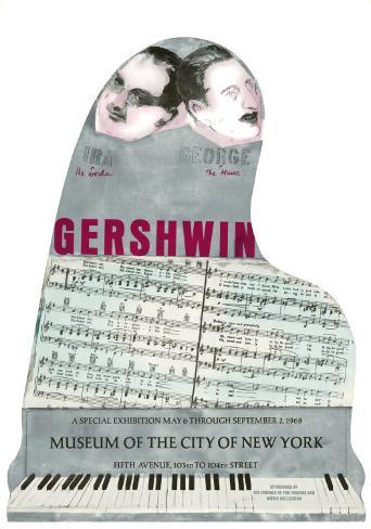 Gershwin Art Print