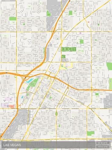 Las Vegas, United States of America Map