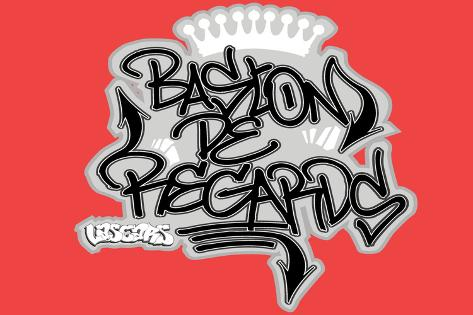 Lascars - Round Da Way Eye Battle's Graffiti Poster