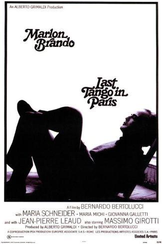 Last Tango In Paris Masterprint