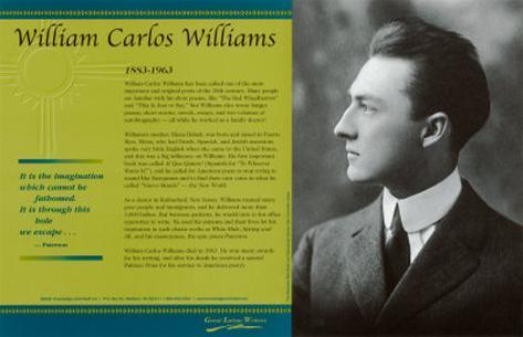 william carlos williams the artistic poet