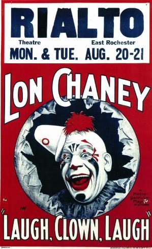 Laugh, Clown Masterprint