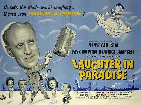 Laughter in Paradise Art Print