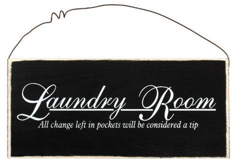Laundry: Sorting Out Life Wood Sign