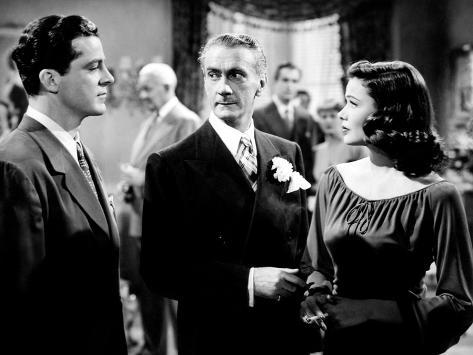 Laura, Dana Andrews, Clifton Webb, Gene Tierney, 1944 写真