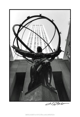 Atlas at Rockefeller Center Art Print