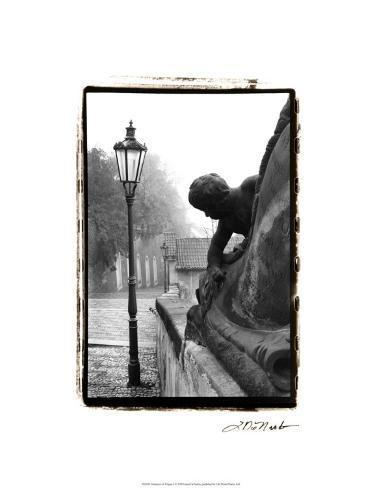 Glimpses of Prague I Premium Giclee Print