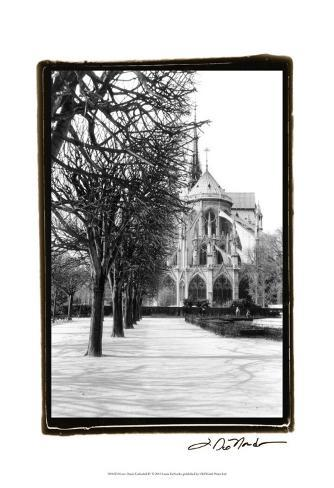 Notre Dame Cathedral IV Art Print