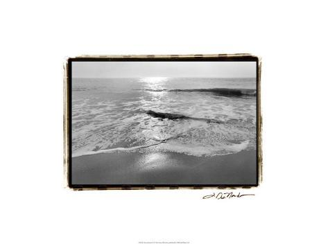 Ocean Sunrise II Premium Giclee Print