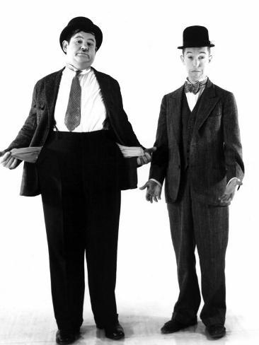 Laurel and Hardy, c.1930s Photo