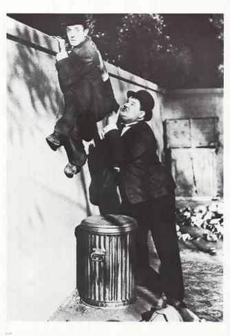 Laurel and Hardy Masterprint
