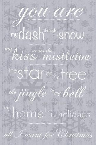 For Christmas Art Print