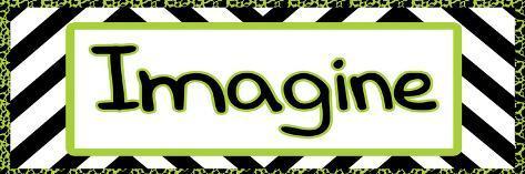 Tween Imagine Green Art Print
