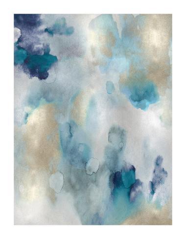 Whipser in Aqua V Giclee Print