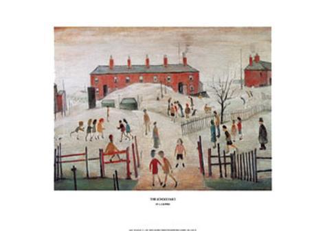 The Schoolyard Art Print