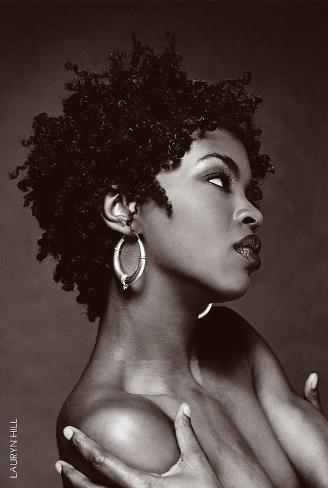 Lauryn Hill B/W Poster