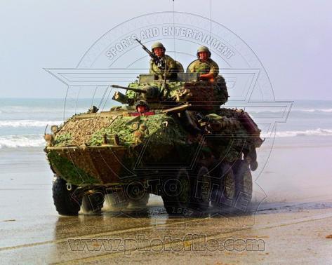 LAV-25 Light Armored Vehicle United States Marine Corps Photo