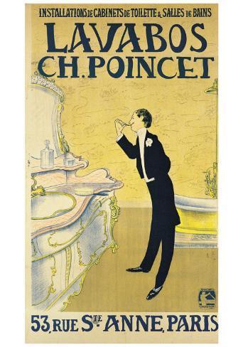 Lavabos Ch. Poincet Art Print