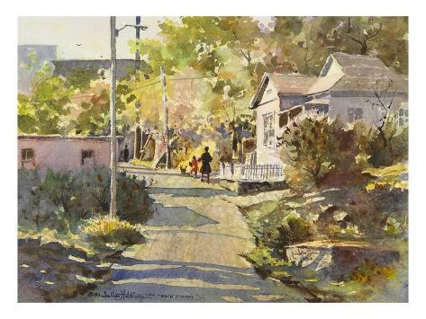 Back Street Giclee Print By Lavere Hutchings Allposters