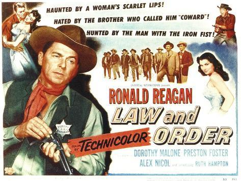 Law and Order, 1953 Art Print