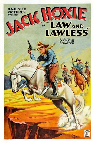 Law and the Lawless Art Print