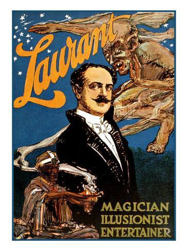Lawrant the Magician Giclee Print