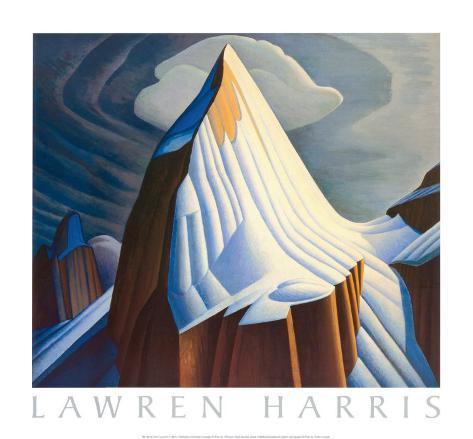 Mount Lefroy Art Print