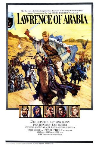 Lawrence d'Arabia Poster