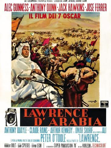 Lawrence da Arábia Impressão artística