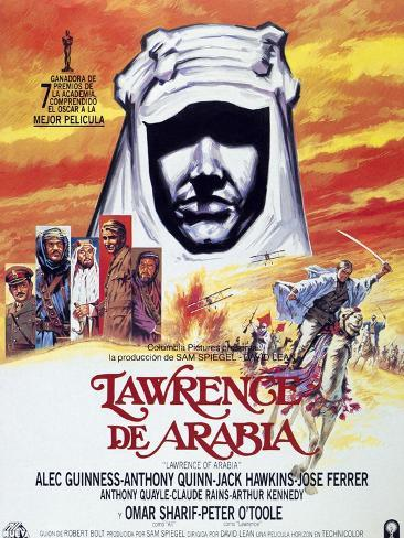 Lawrence of Arabia, 1962, Directed by David Lean ジクレープリント