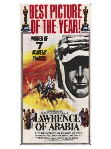 Lawrence of Arabia, 1963 Art Print