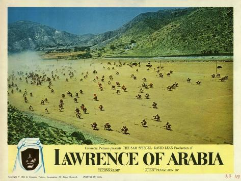 Lawrence of Arabia, 1963 Art Print