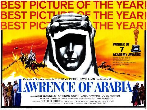 Lawrence of Arabia, 1963 アートプリント