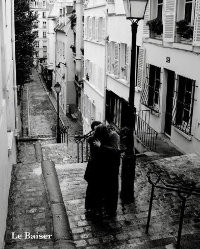 Le Baiser - The Kiss Miniposter
