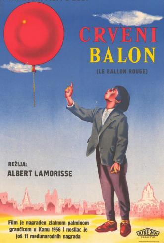Le Ballon Rouge Impressão original