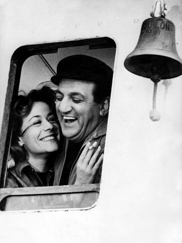 Le Bateau D'Emile De Denysdelapatelliere Avec Annie Girardot Et Lino Ventura 1962 Photo